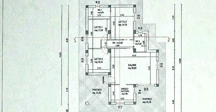 mod. planimetria 1940