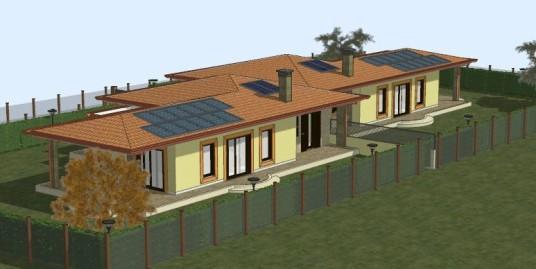 Rieti:Zona Coop Futura : N.2 Ville bifamiliari (Rif.2067)