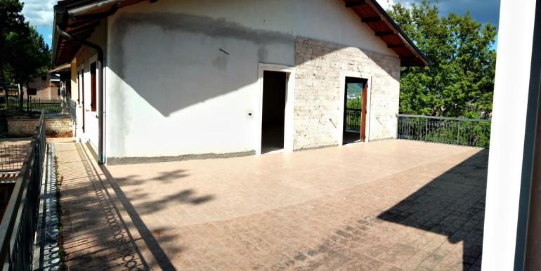 terrazza e facciata