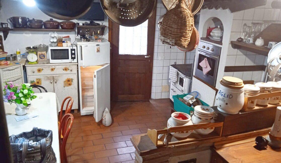 cucina vista scale
