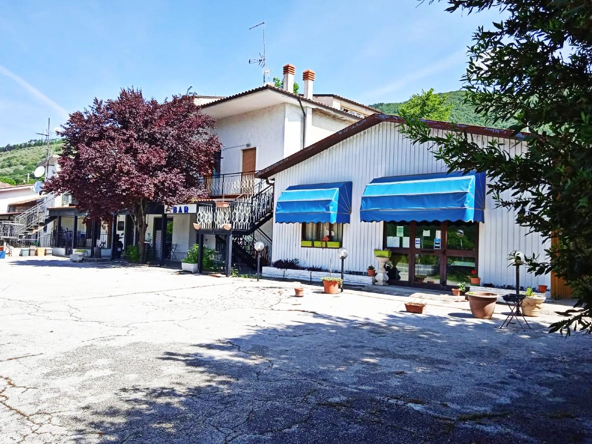 Cittaducale – Caporio: Ristorante – Bar – Albergo (Rif.2234)